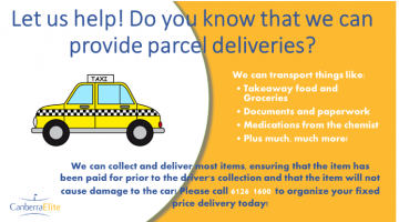 We can collect and deliver your parcels to your door