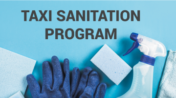 Taxi Sanitation Program